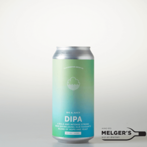 cloudwater brew big & juicy dipa imperial double new england india pale ale blik 44cl
