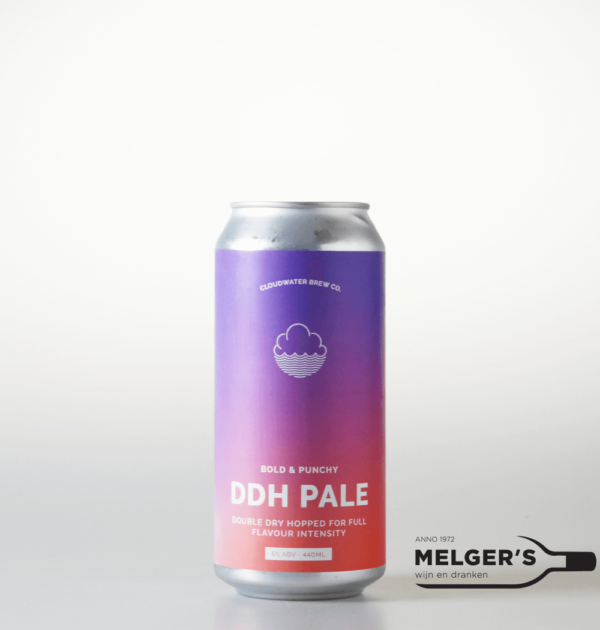 cloudwater brew bold & punchy double dry hopped ddh new england pale ale blik 44cl