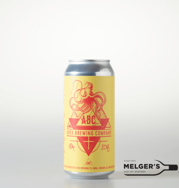 apex brewing company abc new england mosaic & simcoe india pale ale neipa blik 44cl