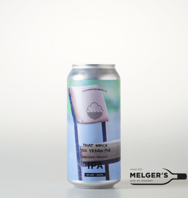 cloudwater brew co that which you yearn for organic single hop ipa india pale ale blik 44cl