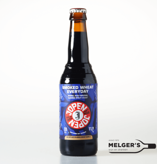 jopen smoked wheat everyday ardberg whisky barrel aged imperial smoked wheat stout 33cl