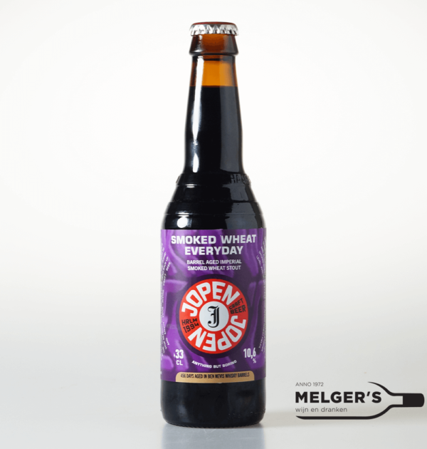 jopen smoked wheat everyday ben nevis whisky barrel aged imperial smoked wheat stout 33cl