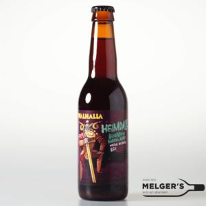 walhalla craftbeer heimdall bourbon barrel aged imperial rye bock bokbier 33cl