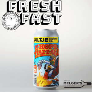 uiltje brewing company fresh n fast the hops of hazzard Imperial new england ipa india pale ale blik 44cl