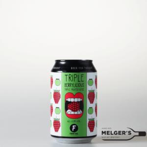 brouwerij frontaal triple berrylicious triple fruited gose blik 33cl
