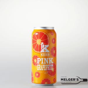 brouwerij kees pink grapefdruit full-flavoured ipa grapefruit india pale ale blik 44cl